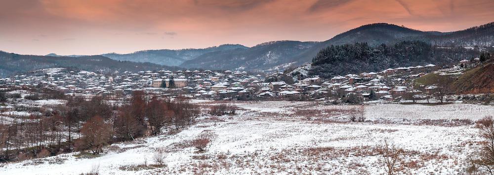 Панорама на село Кости