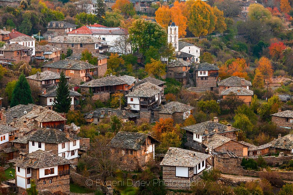 Село Ковачевица през есента