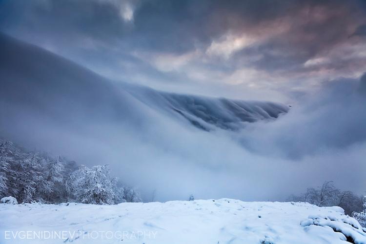 Старопланиското било през зимата