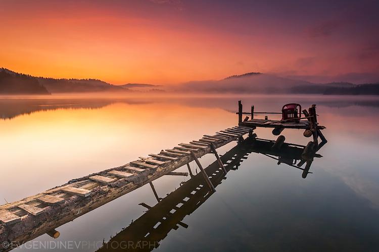 Кей в езерото