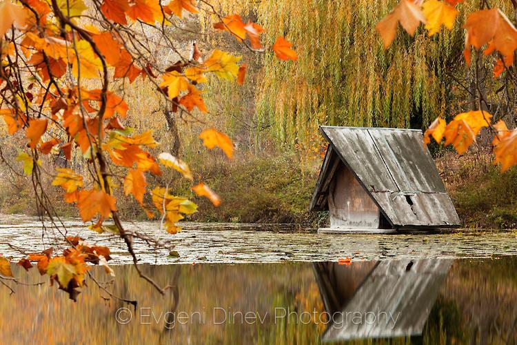 Къщичка в езерото