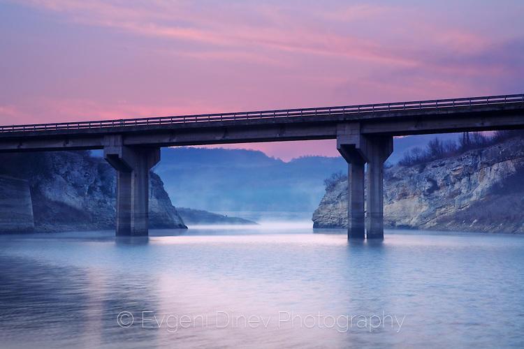 Мост над язовир Цонево
