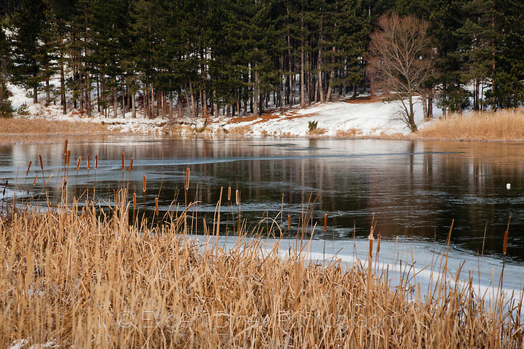 Зима на езеро Карандила