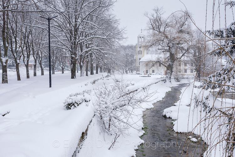 Зима в Малко Търново