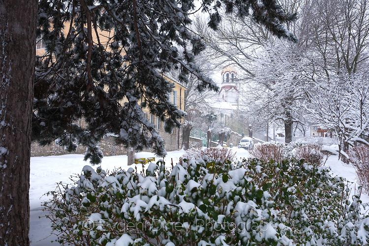 Малко Търново през зимата