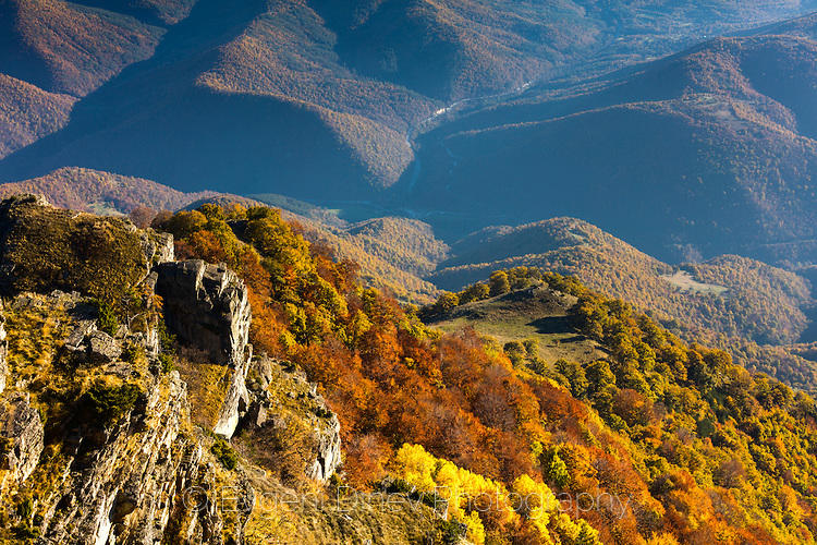 Есенна гора под Милеви скали
