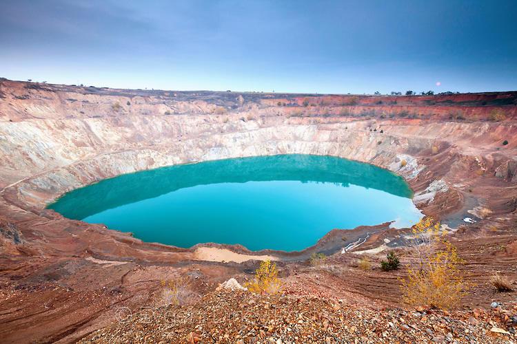 Изоставен рудник край село Цар Асен