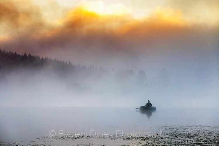 Риболов в димящи води