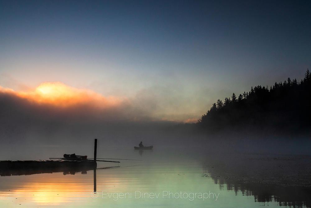 Летен риболов в езеро