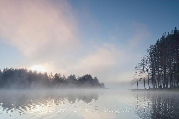 Мъгливо езеро
