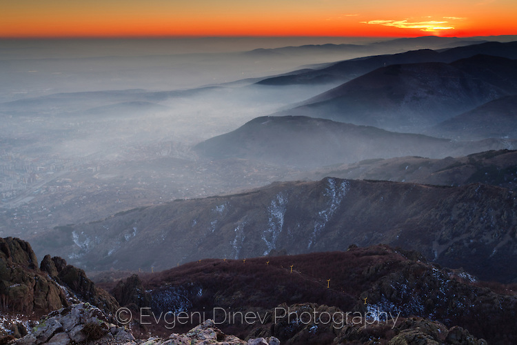 Мъгла над Сливен