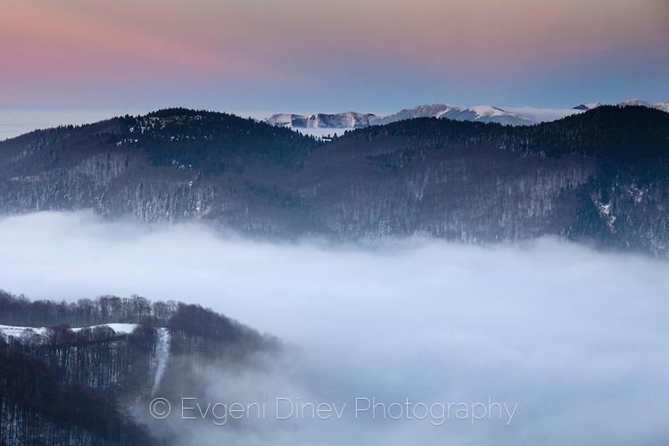 Стара планина в облаци