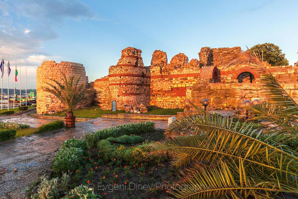 Антична крепост в Несебър