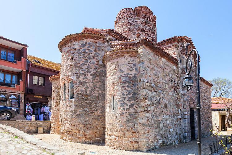 Антична църква в Несебър