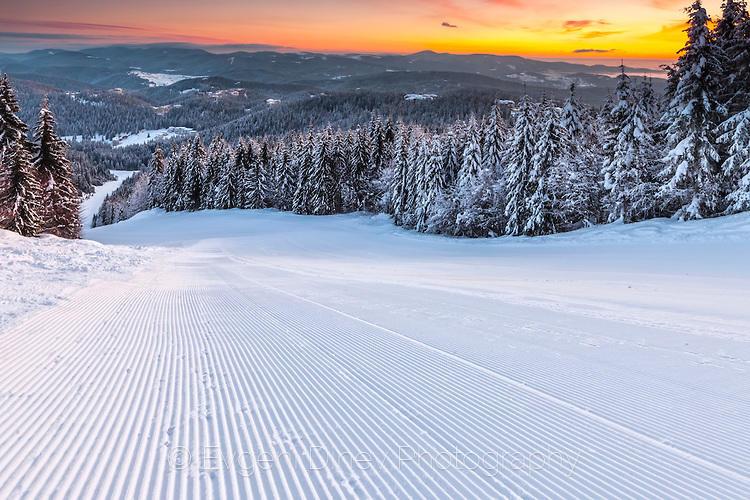 Чисто нова ски писта