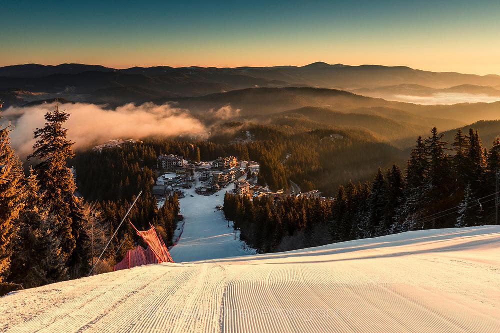 Недокосната ски писта