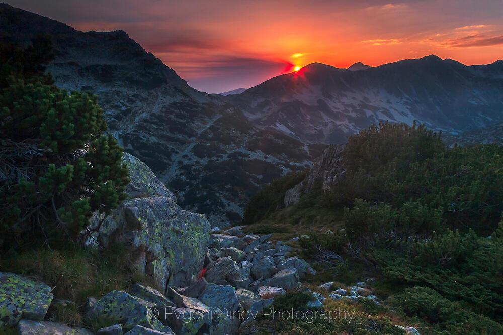 Залез от Валявишки рид в Пирин