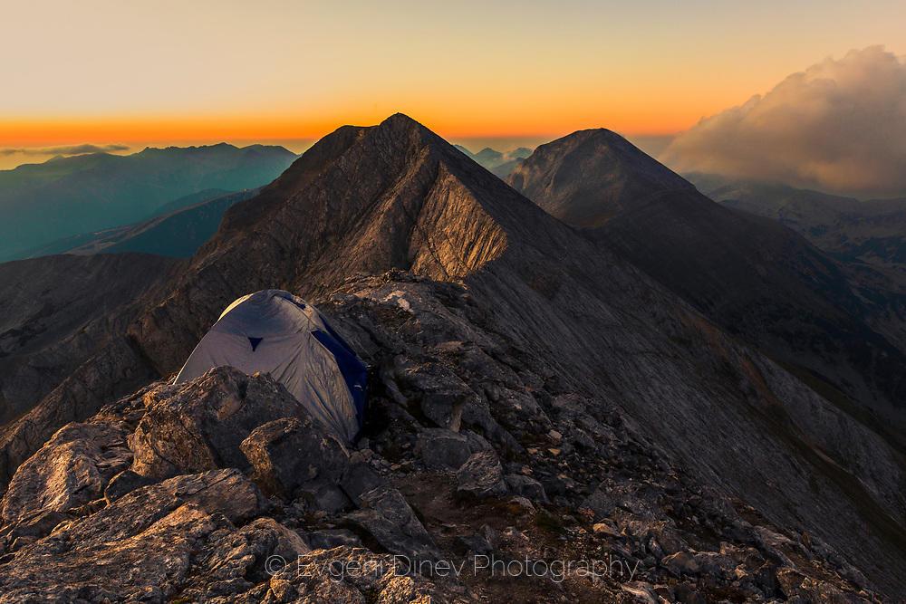Палатка на връх Бански суходол