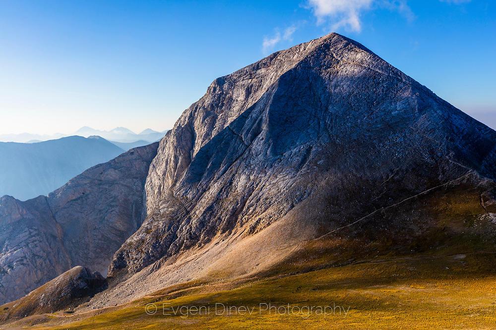 Вихрен - мраморният връх