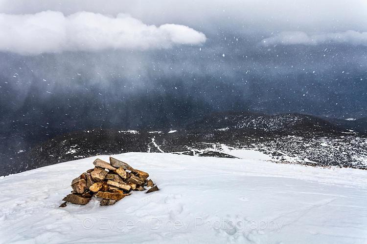 Внезапен снеговалеж в Пирин