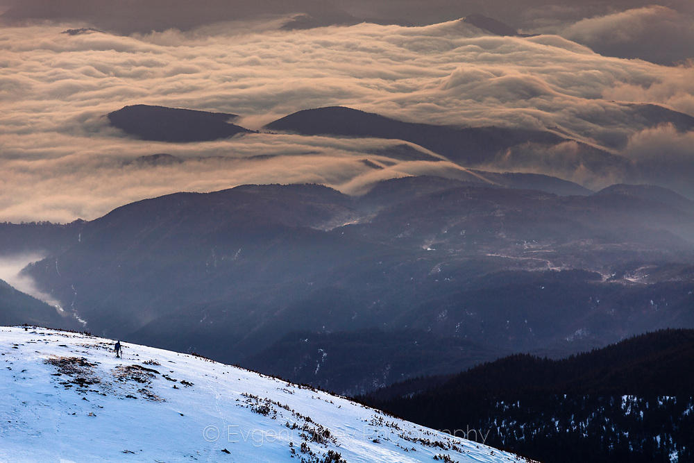 Облаци в склоновете