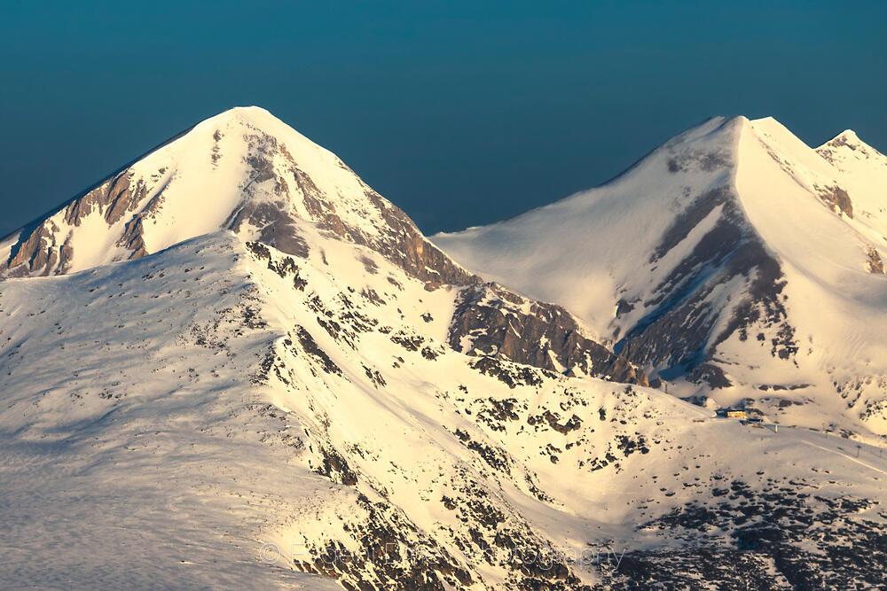 Вихрен и Муратов връх от Полежан