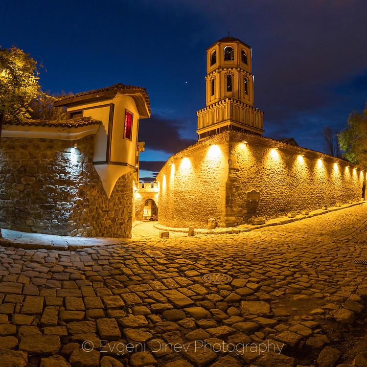 Нощем в стария Пловдив
