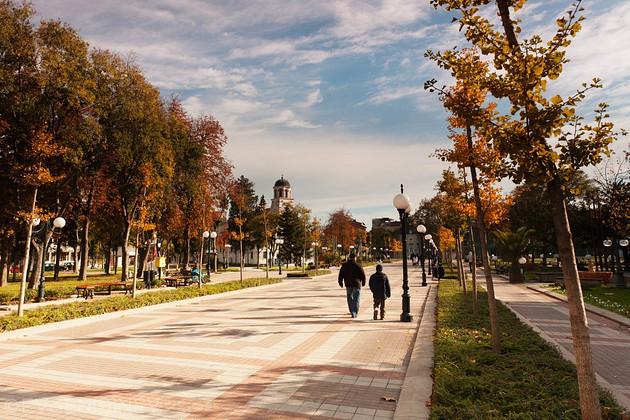 Улица в Поморие