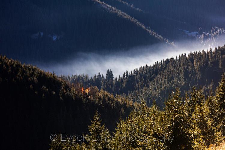 Есенно утро в Чепеларския край