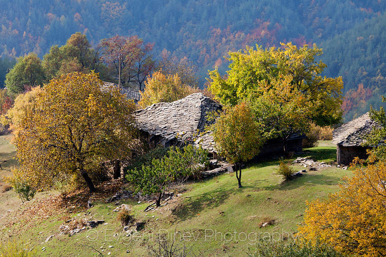 Родопска махала през есента