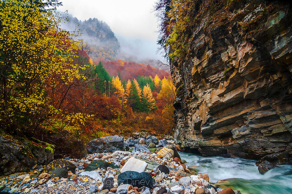 Буйна родопска река