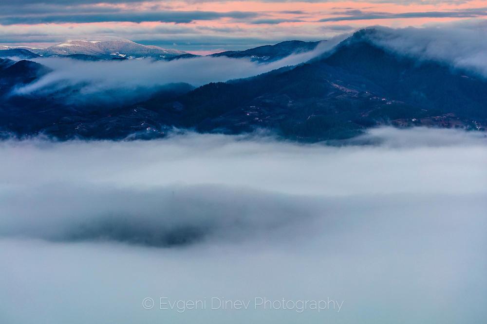 Було от зимни облаци над Родопите