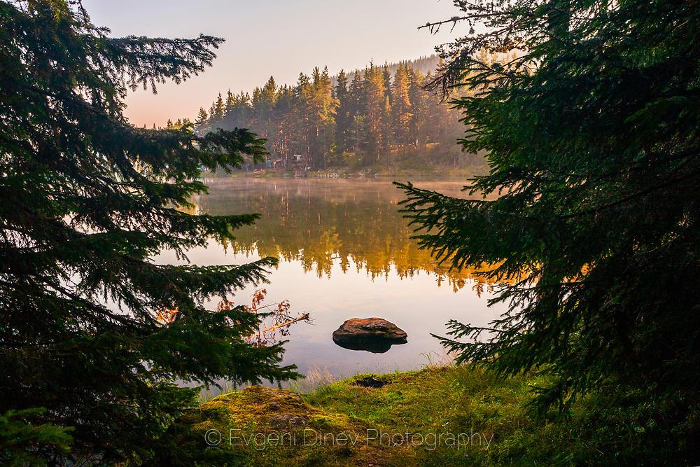Лятно утро край язовир Голям беглик