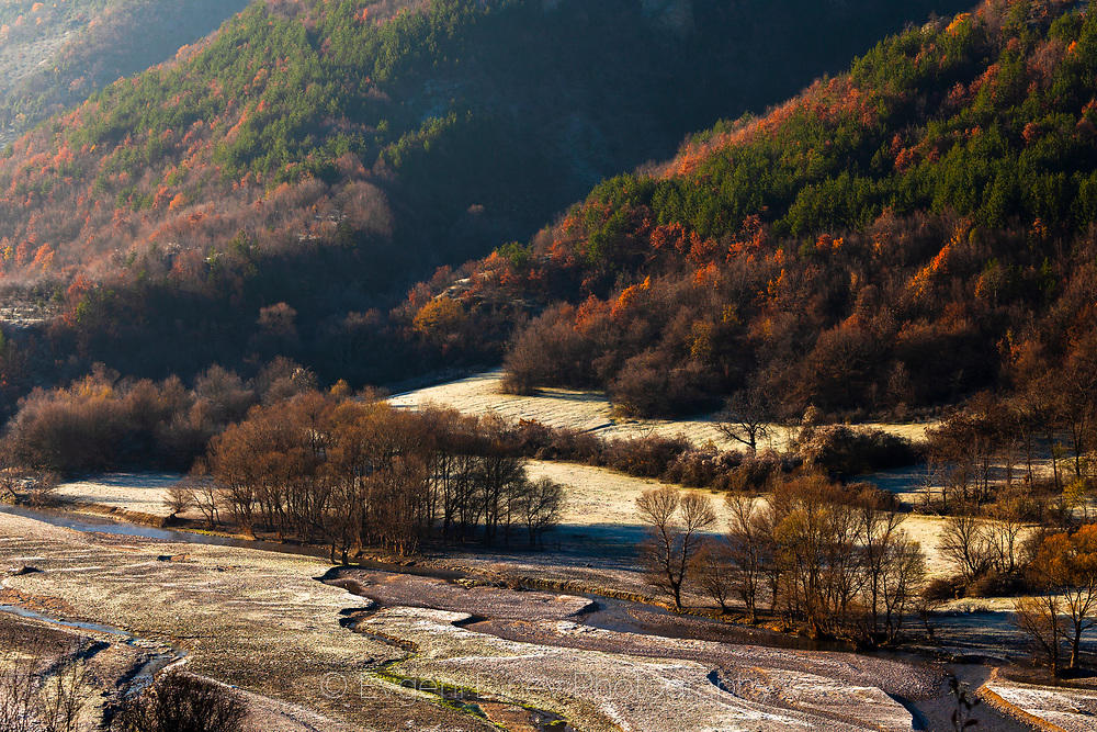 Пресъхнала река