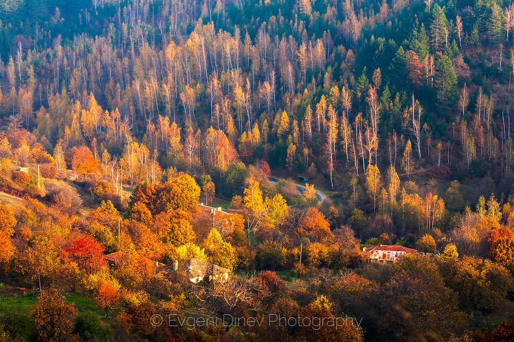 Родопско село през есента