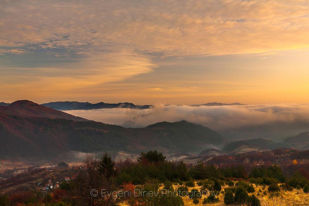 Идиличен Родопски пейзаж