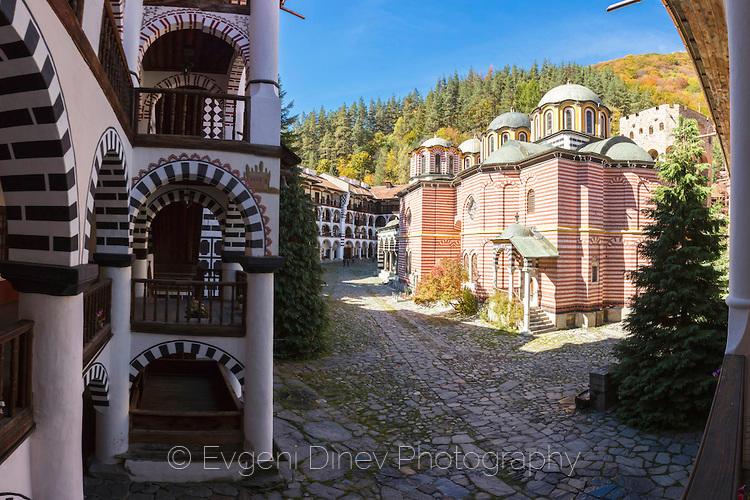 Из усоите на Рилски манастир
