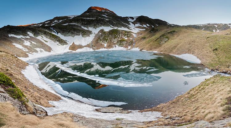 Панорама на Урдиното езеро