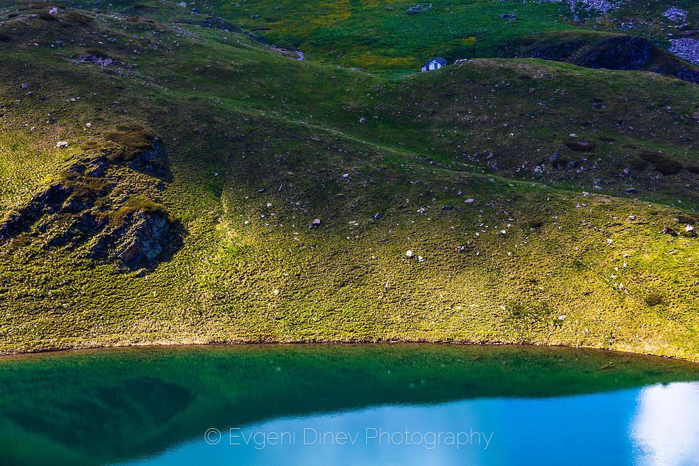 Заслон над Урдино езеро