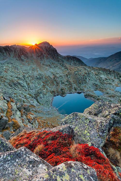 Възхитителен планински пейзаж