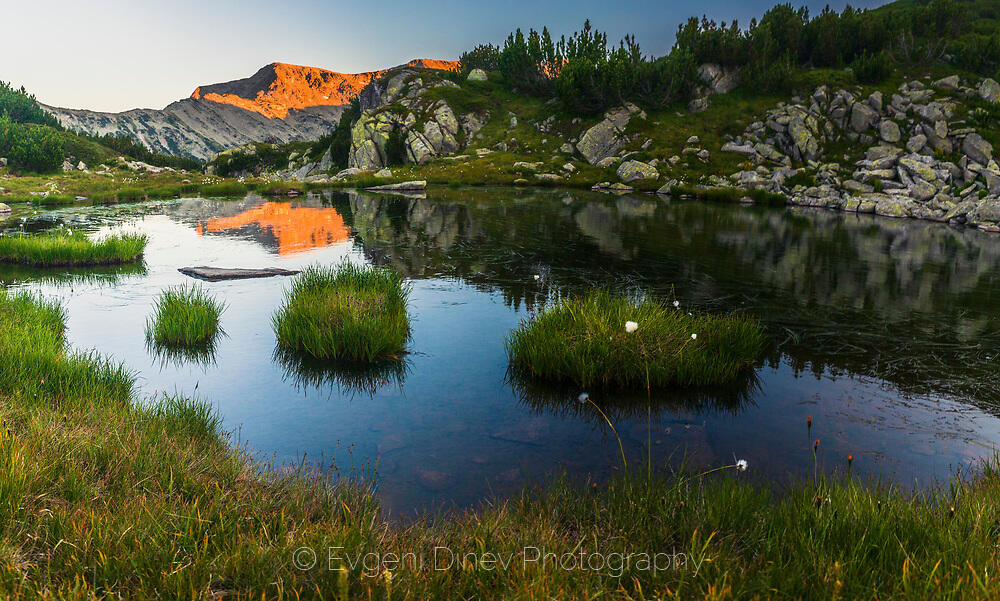 Малко езерце в Рила планина