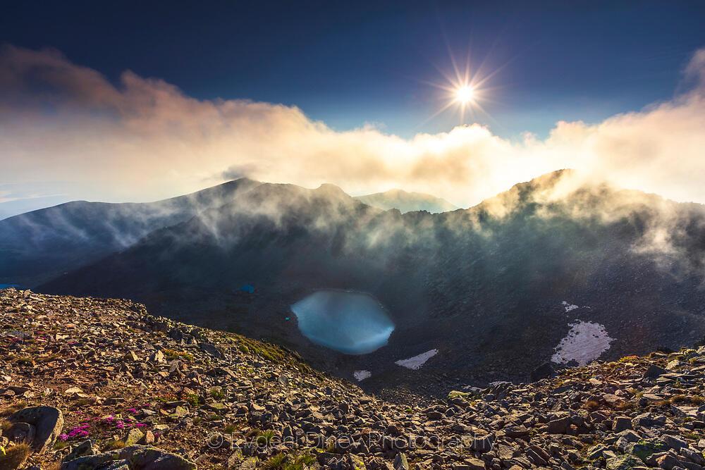 Юлско слънце над Рила