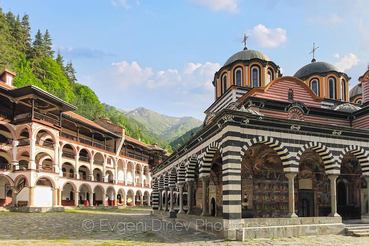 Църквата на Рилски манастир