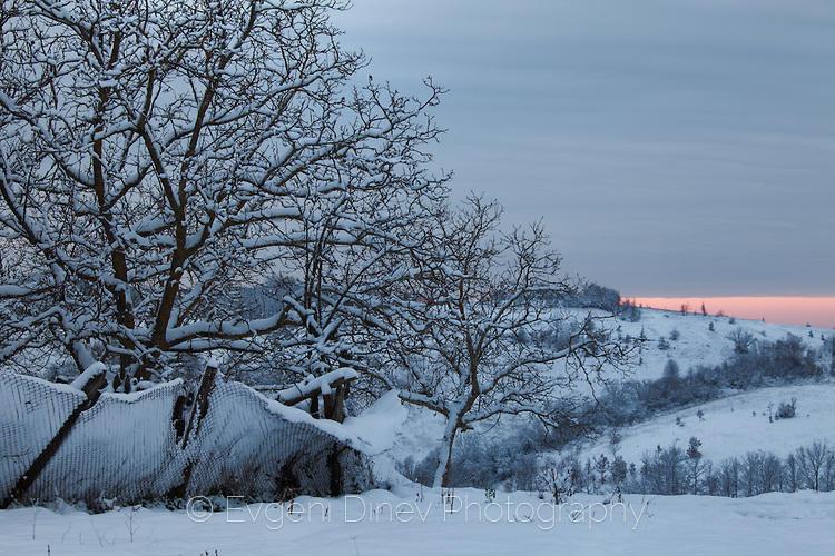 Зимен залез в Стоилово
