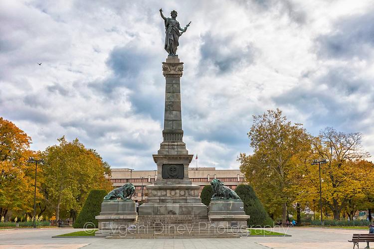 Площад на свободата в Русе