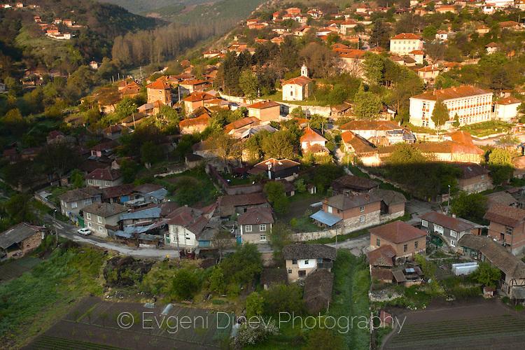 Село Червен по изгрев