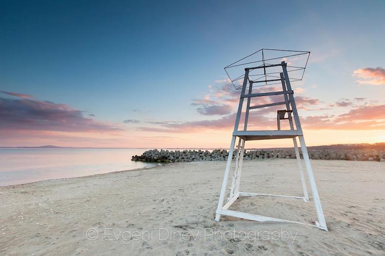 Северния плаж в Сарафово