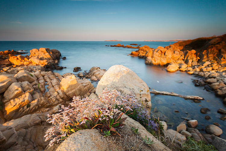 Черноморски залив по залез
