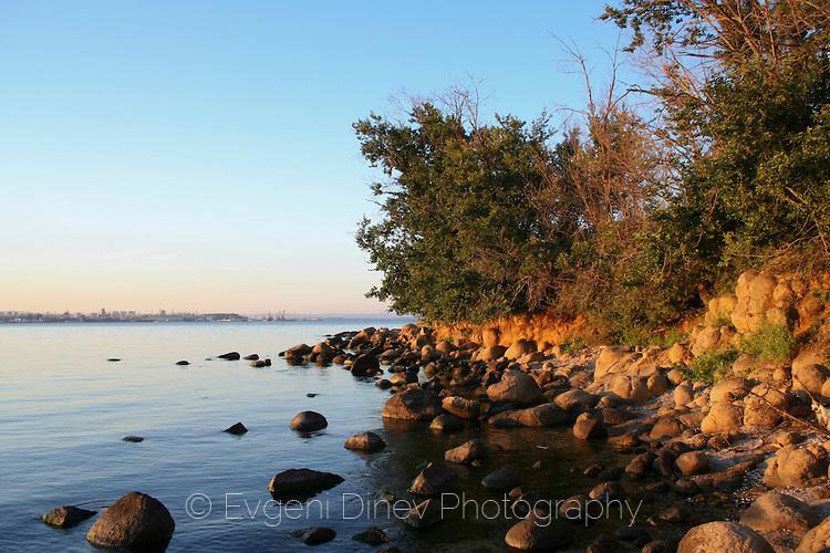 Красив залив край Крайморие