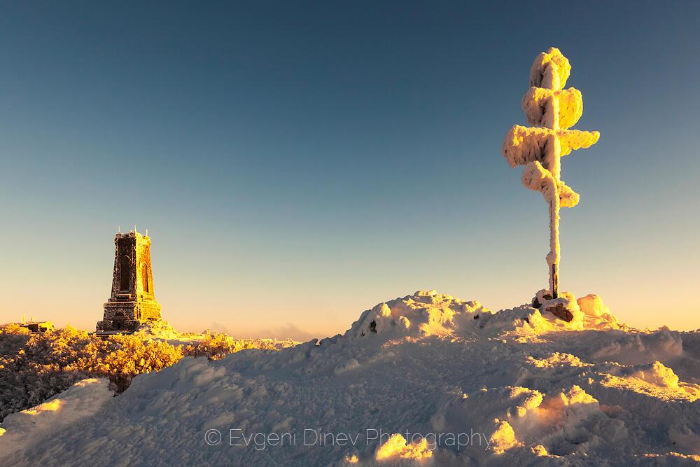 Зима на Шипка